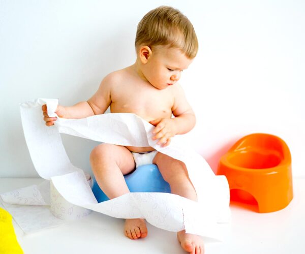 just the three of us, for now: Potty Training Part I