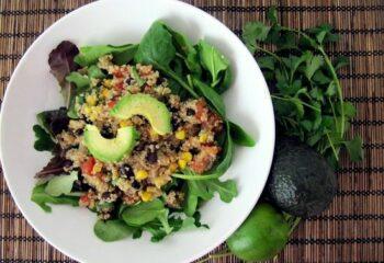 Southwestern-Quinoa-Salad-With-Lime-Cilantro-Vinaigrette