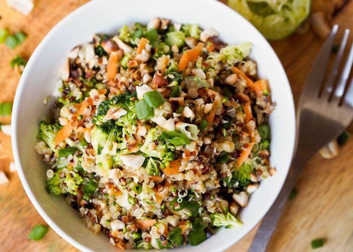 Thai-Veggie-Quinoa-Bowl